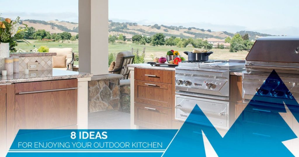 enjoyable colorado outdoor kitchen