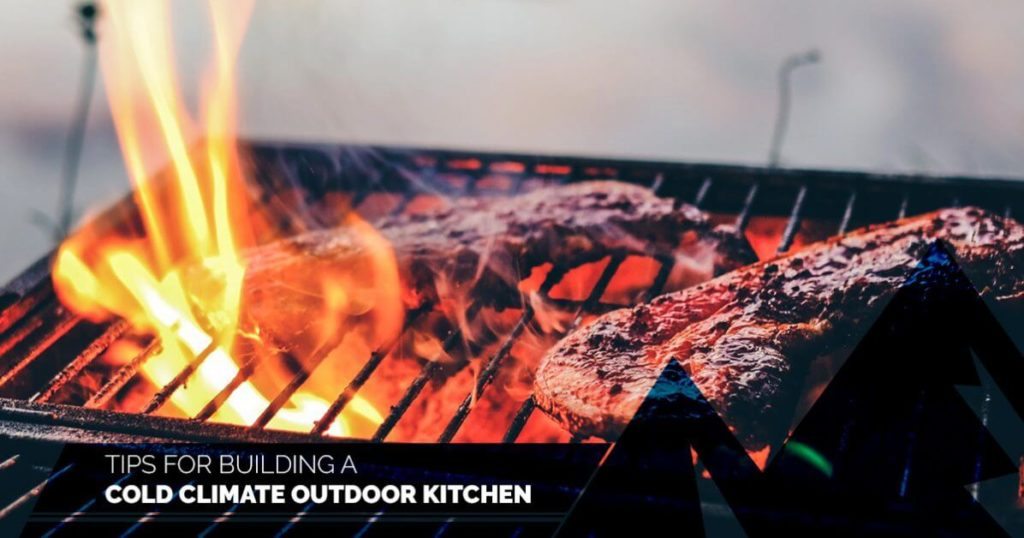 cold climate outdoor kitchen