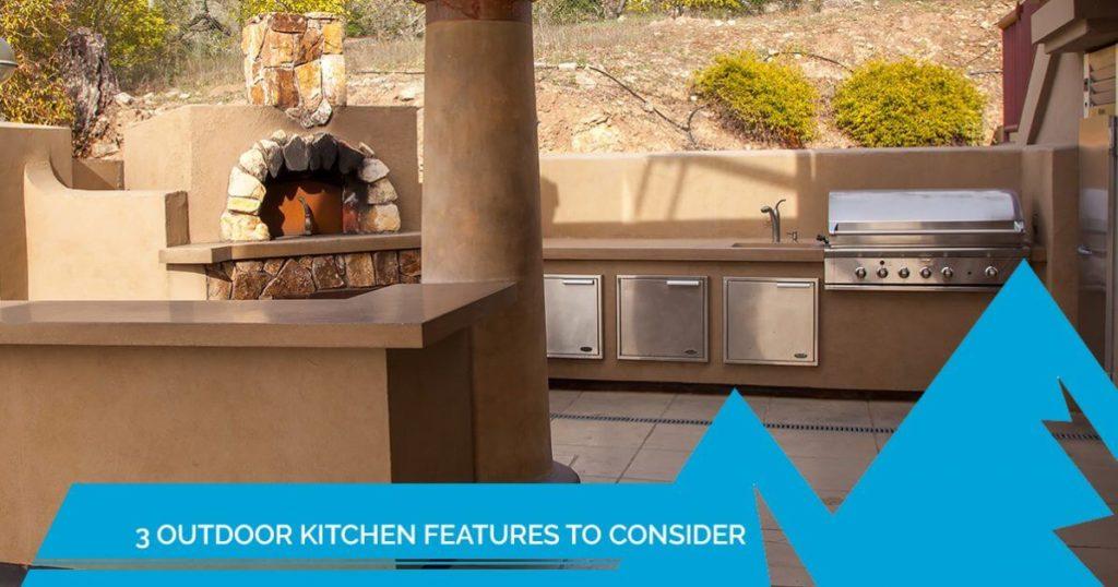 outdoor kitchen features denver