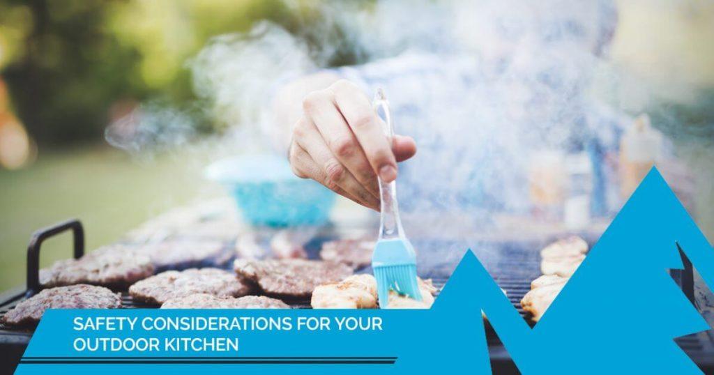 outdoor kitchen safety