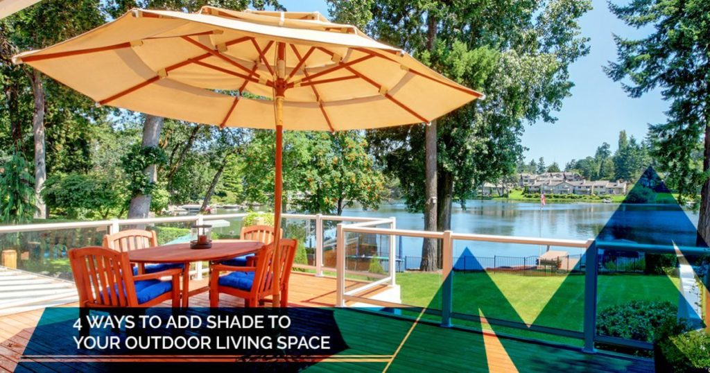shade for outdoor living space
